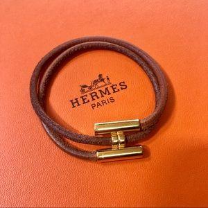 Hermes Palladium H bracelet